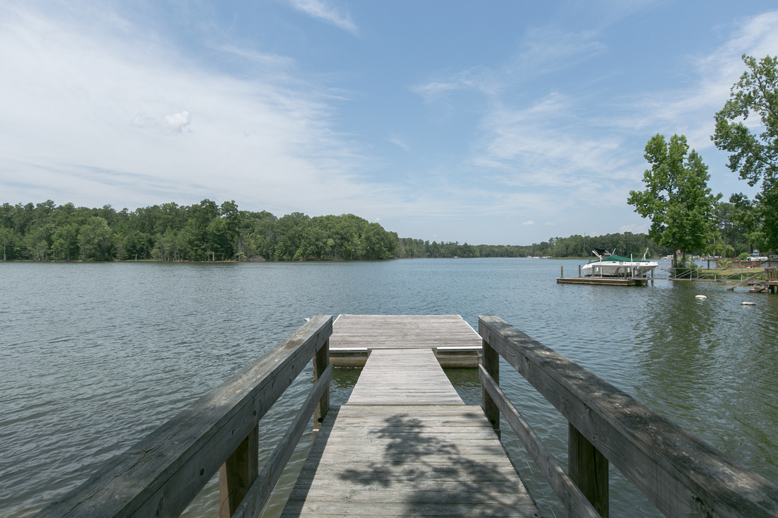 View from dock | 116 Lakewood Drive