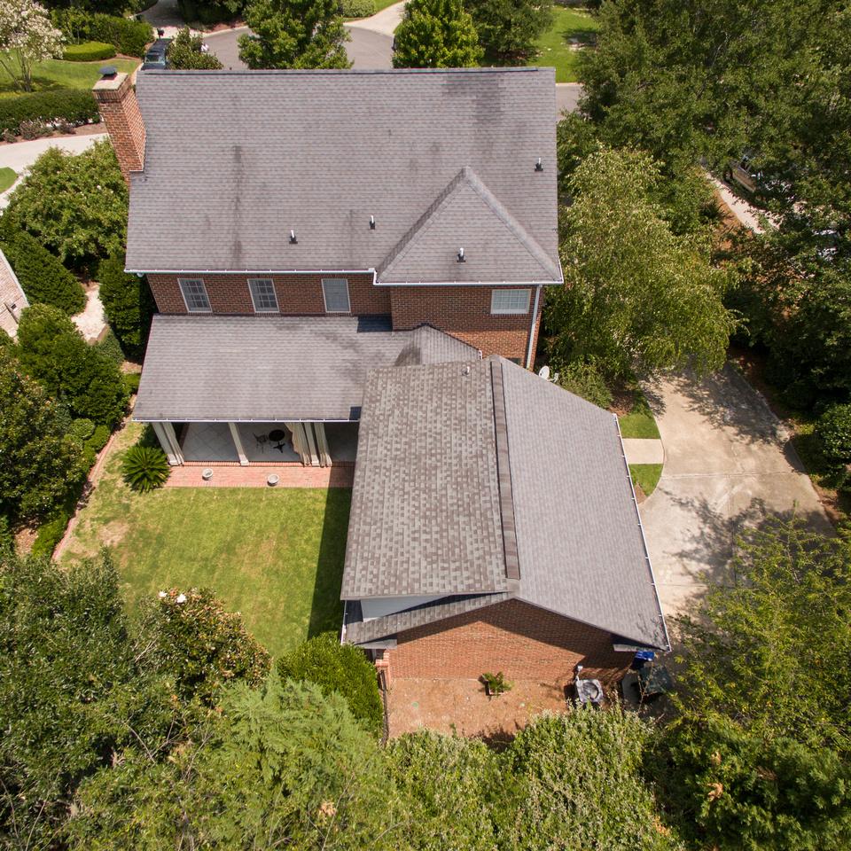 Aerial View back | 35 Mahalo Lane