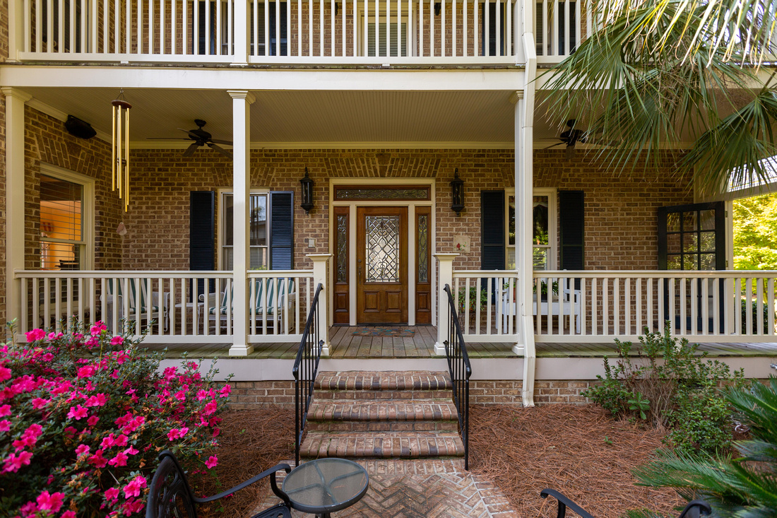 Front Porch & 2nd Story Balcony