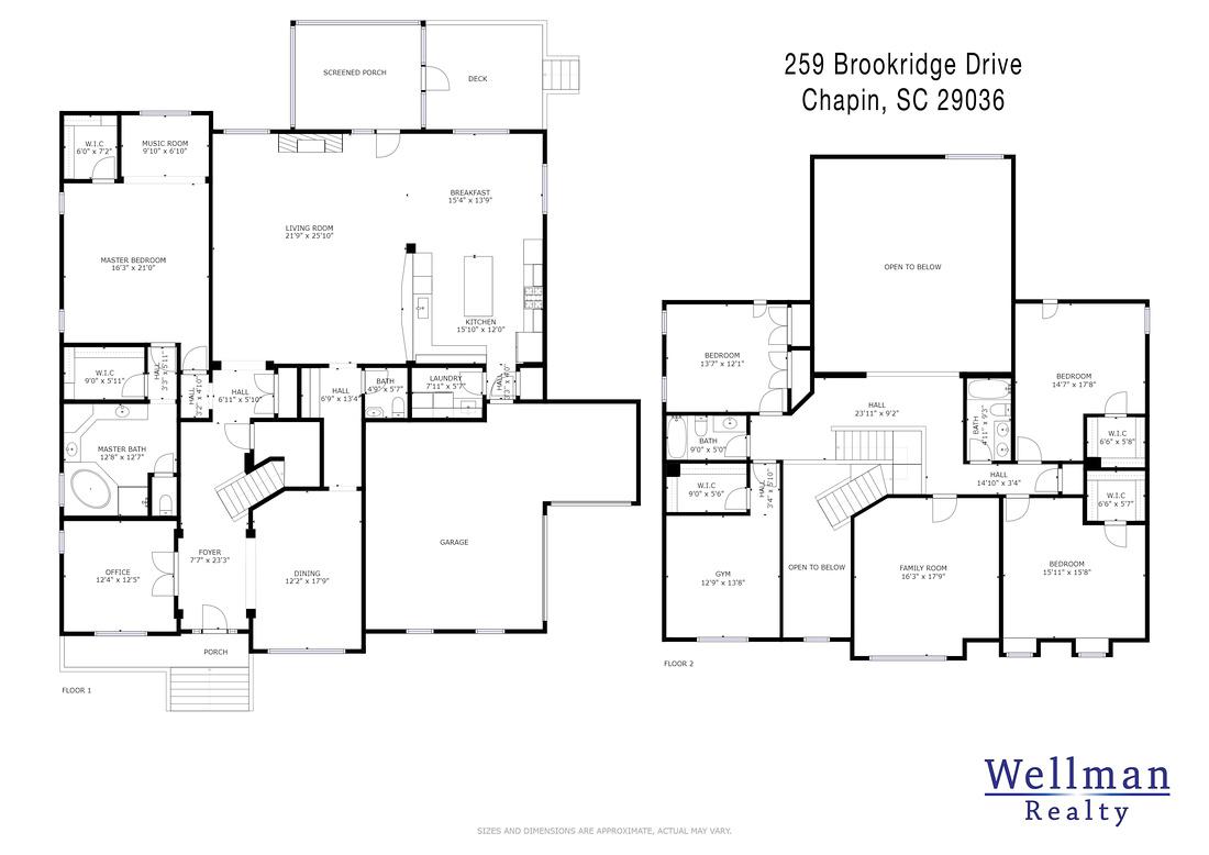 Floor Plan - 259 Brookridge Drive