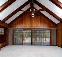 Sliding doors to screened-in Porch