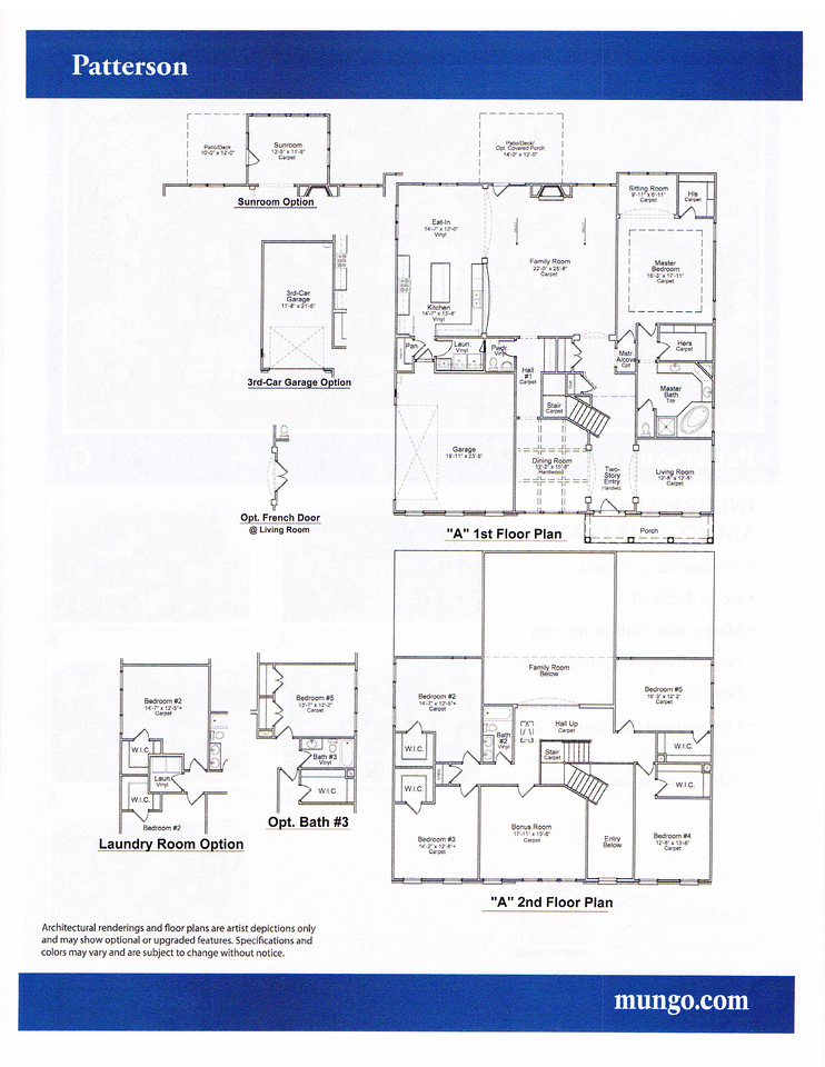 Patterson Floor Plan