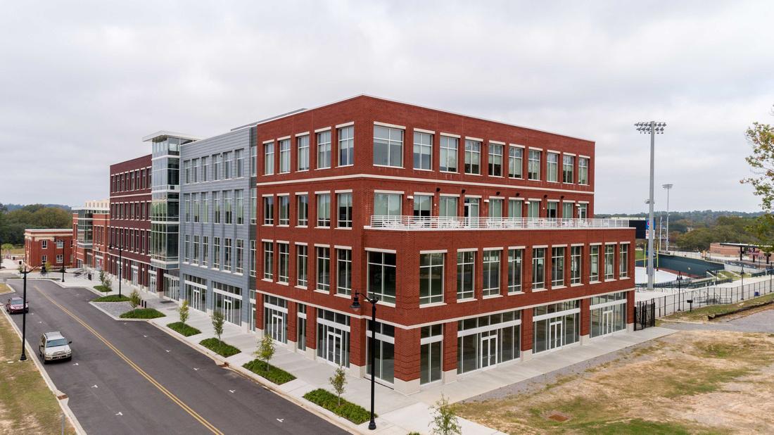 First Base Building - Bullstreet Development