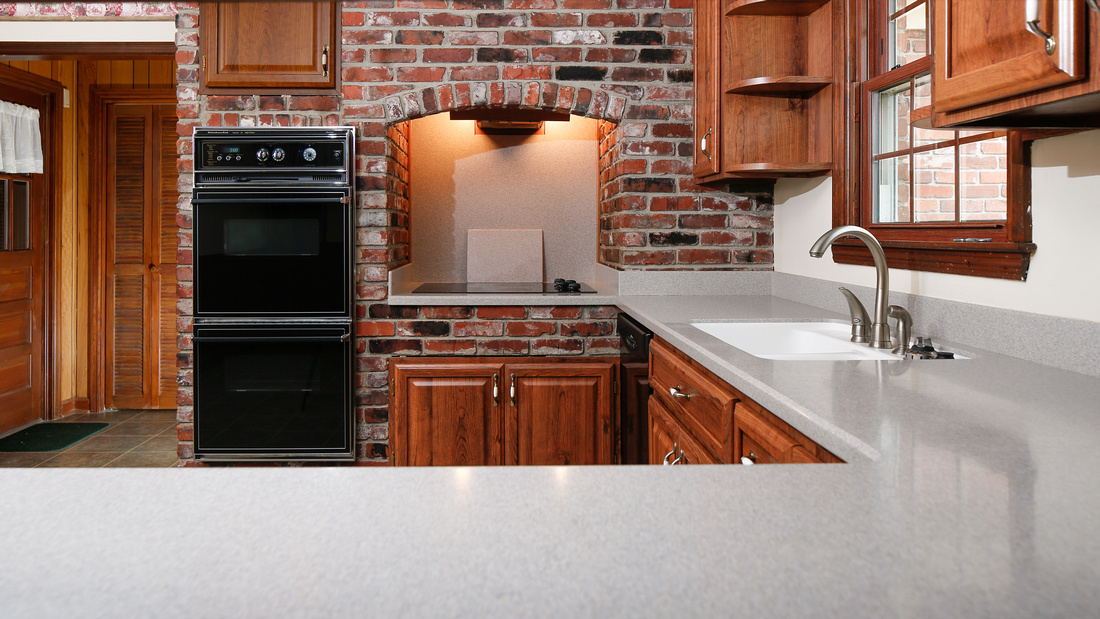 Solid surface counters