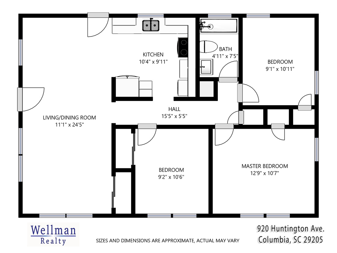 Floor Plans by Wellman Realty
