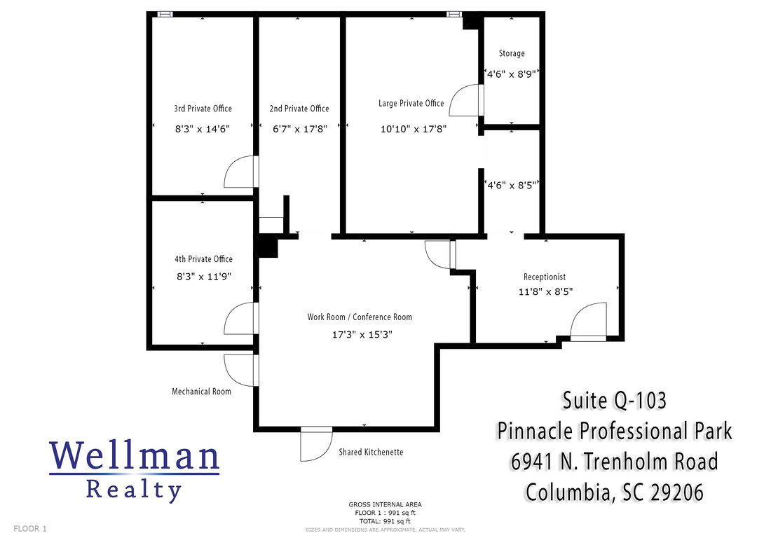 Floor Plan - Suite Q-103